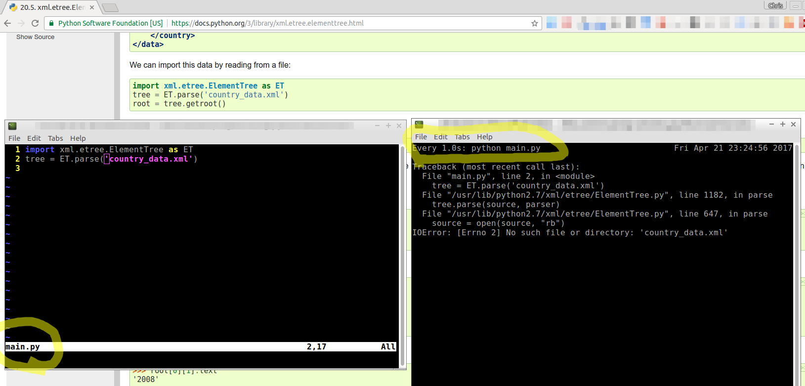 Using watch to run a command every one second and observe the output whilst programming