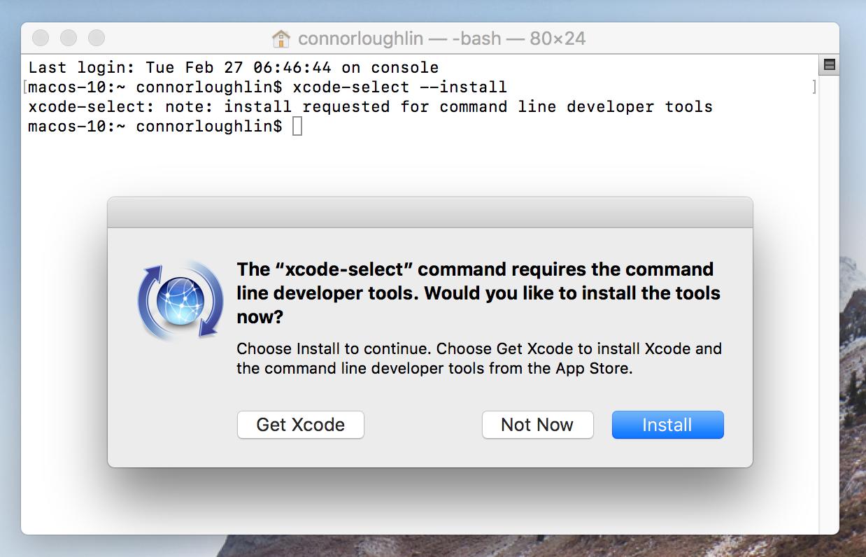 Installing ERPNext on macOS