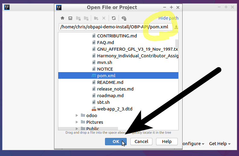 how-to-install-open-banking-api-intelliJ-step-3